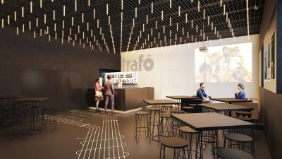 Trafó welcomes season 22 with new spaces – here are some visualizations