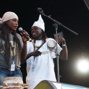 African percussionists invite you to a night you'll never forget!