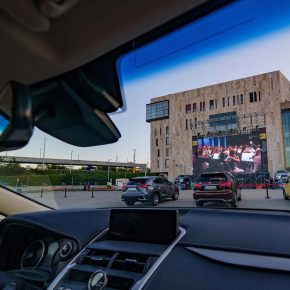Drive-in cinema assures: no lack of music for the summer!
