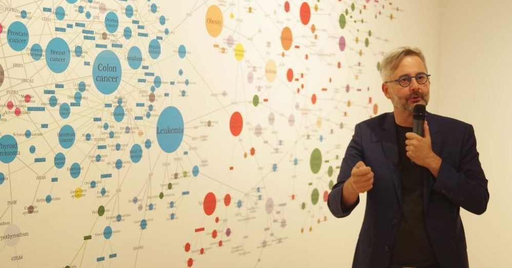 The 21st century started with the coronavirus, researcher behind the BarabásiLab exhibition implies