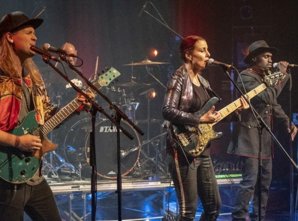 Ida Nielsen concert for free – one of the ten best bass guitarists of the world